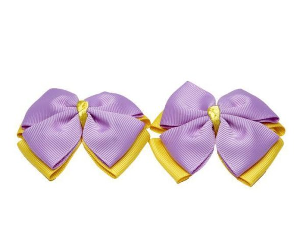 YELLOW AND PURPLE BABY GIRL HAIR ACCESSORIES FOR NEWBORN, INFANT AND TODDLERS LOVE IS IN THE HAIR 2 - Zuri Baby Couture PH.jpg