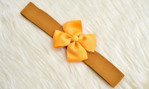 BABY GIRL HAIR ACCESSORIES FOR NEWBORN, INFANT AND TODDLERS THE HARMONIC HEADBAND 2 - Zuri Baby Couture PH