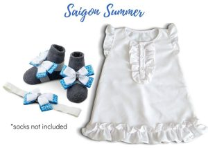 SAIGON SUMMER BABY GIRL DRESS 9-18 MONTHS
