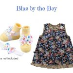 Blue Floral: Blue by the bay