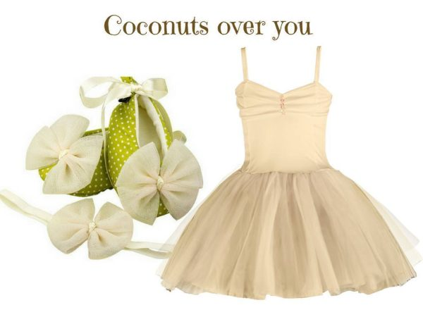COCONUTS OVER YOU BABY GIRL DRESS SET 3-9 MONTHS
