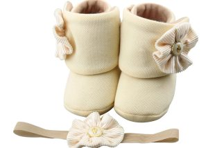 Baby Girl Booties Set: My Twin Mimmy