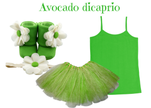 Cream and Green - Avocado Dicaprio - Zuri Baby Couture PH
