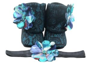 Let Me Bayou A Drink Baby Girl Booties And Headband Set