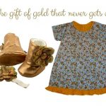 Mustard Gold Floral: The gift of gold that never goes old