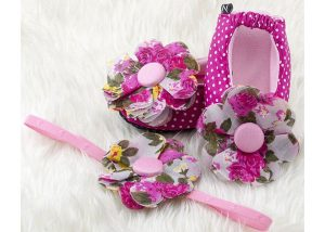 Pink Princess Isabela Ballerina Shoes - Zuri Baby Couture PH