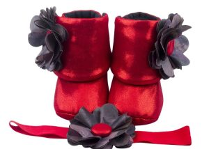 Do The Dorothy Baby Girl Booties And Headband Set