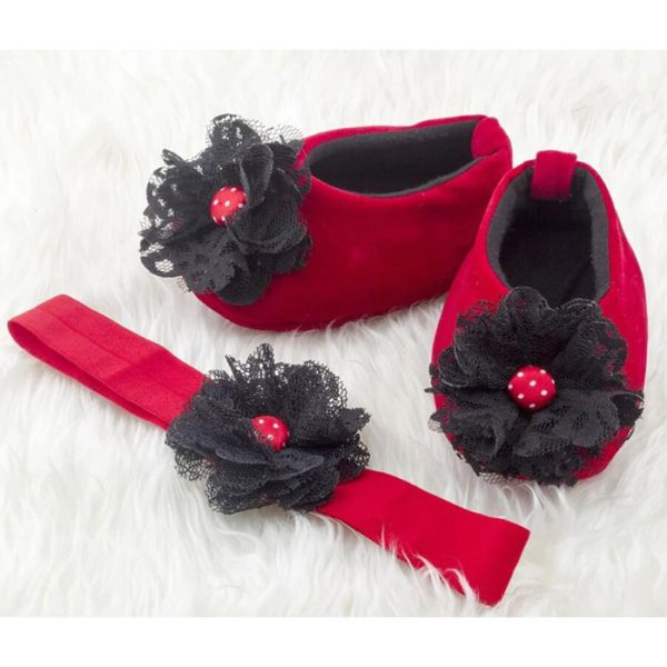 Lipstick Drama Dolly Ballerinas Shoes 3-24 Months