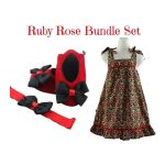 Red Floral: Ruby Rose