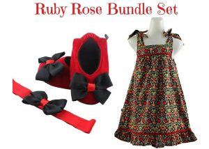Ruby Rose Bundle Baby Girl Dress Set 9-18 Months
