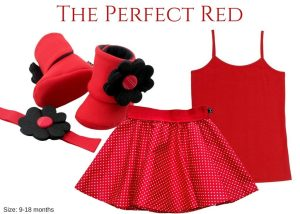 Baby Girl Dress Set: Perfect #ootd Outfit For Your Little Patootie Daily Fashion Ramp: The Perfect Red