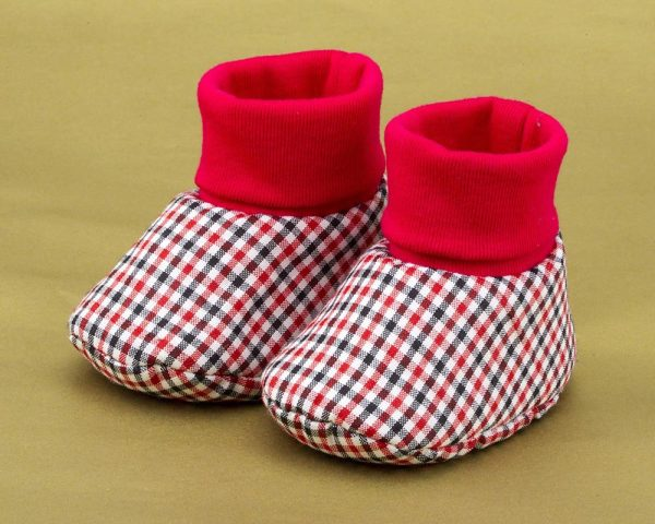 Red Attack Baby Boy Shoes