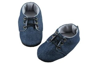 Denim is in! Baby Boy Shoes