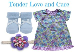 Tender Love and Care Dress Set 0-6 Months