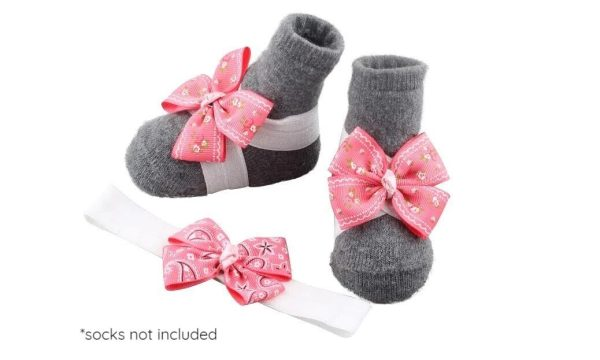Baby Girl Barefoot Set for Newborn, Infant & Toddlers