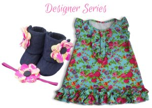 Designer Series Baby Girl Dress Set 9-18 Months