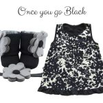 Black Floral: Once you go black