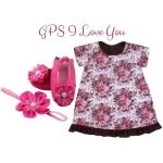 Fuchsia Floral: GPS I love you