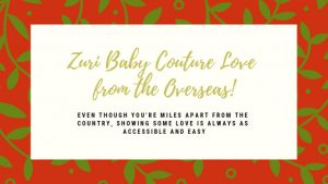 Zuri Baby Couture Love From the Overseas!