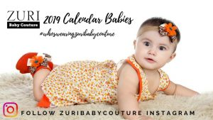 Search for Zuri Baby Couture 2019 Calendar Babies