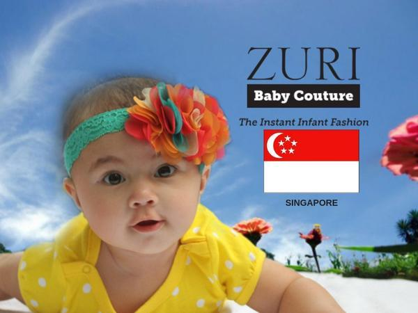 The Instant Infant Fashion goes Global Singapore