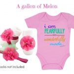 Pink: A gallon of Melon
