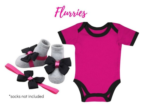 Baby Onesie With Barefoot & Headband