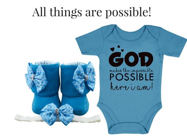 ALL THINGS ARE POSSIBLE - Zuri Baby Couture