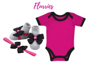 Flurries Onesie - Zuri Baby Couture
