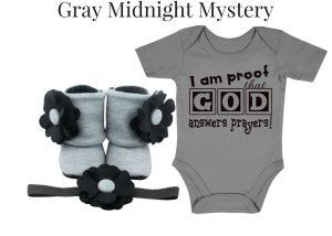 GRAY MIDNIGHT MYSTERY - Zuri Baby Couture