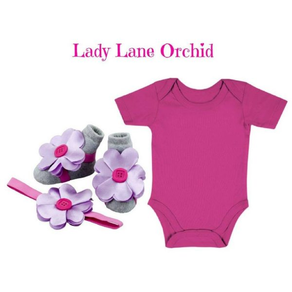 LADY LANE ORCHID - Zuri Baby Couture